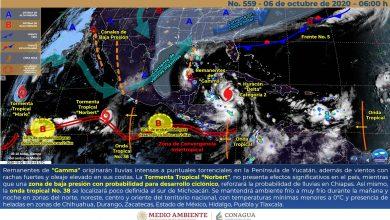 Photo of Lluvias fuertes y viento del norte en Veracruz