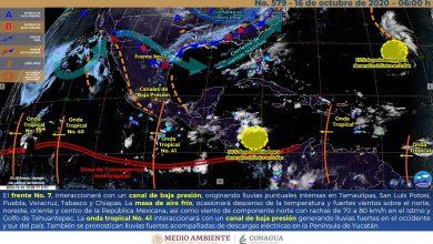 Photo of Nublados y lluvias vespertinas con descargas eléctricas en Veracruz
