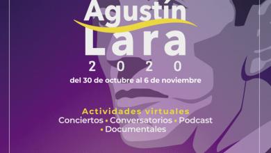 Photo of Alistan el Festival Agustín Lara; será del 30 de octubre al 6 de noviembre