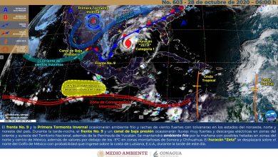 Photo of Se esperan lluvias muy fuertes y viento en Veracruz