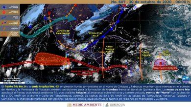 """Photo of Evento de """"Norte"""" y lluvias intensas en el sur de Veracruz"""