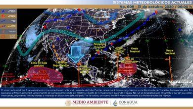 Photo of Nublados y lluvias fuertes en el sur de Veracruz
