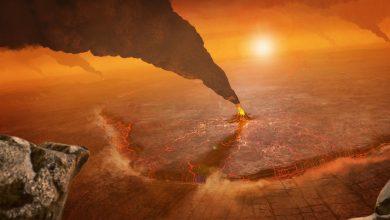 Photo of NASA comparte una imagen de cómo se ve una erupción volcánica en Venus