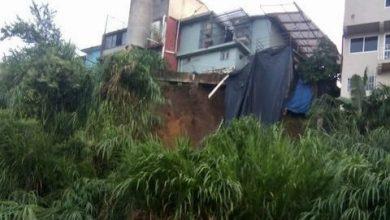 Photo of Siete casas podrían colapsar sobre la calle Hortensia