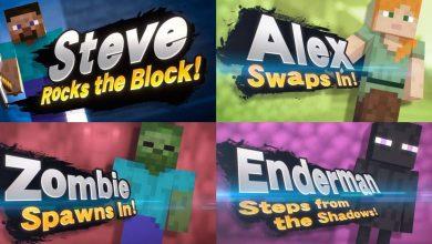 Photo of Nintendo confirma personajes de Minecraft en Super Smash Bros