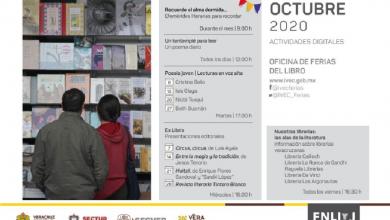 Photo of Continúa IVEC con actividades de difusión del libro y la lectura en octubre