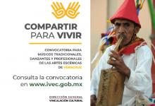 Photo of Emite IVEC la Convocatoria Compartir para vivir, sobre patrimonio cultural tradicional