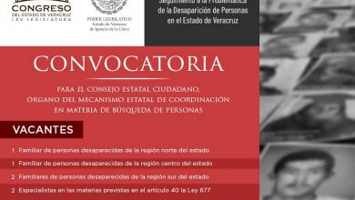 Photo of Emite Legisver convocatoria para 9 vacantes para el Consejo Estatal Ciudadano