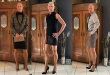 Photo of Mark, el hombre que se ve increíble con faldas y tacones