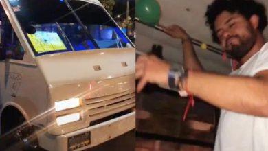 Photo of Joven celebra su cumpleaños en un microbús y se vuelve viral #Video