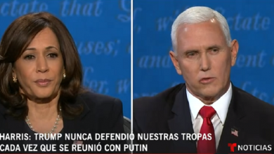 Photo of Debate vicepresidencial entre Pence y Harris