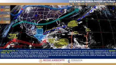 Photo of Lluvias torrenciales y evento de «Norte» en Veracruz