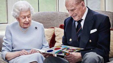 Photo of La Reina Isabel y su esposo cumplen 73 años casados