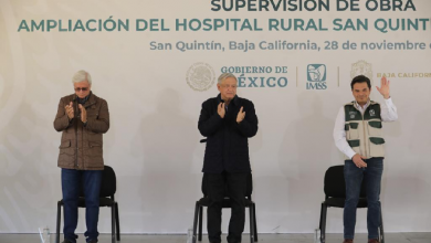 Photo of Ofrece AMLO que en diciembre se concluirá ampliación de hospital IMSS – Bienestar de San Quintín