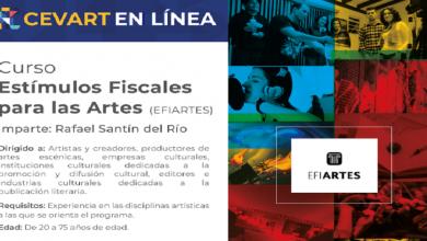 Photo of CEVART invita al Curso sobre Estímulos Fiscales para las Artes