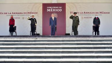 Photo of En Día de la Armada de México, marinos refrendan su lealtad al presidente AMLO