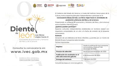 """Photo of Presenta IVEC la convocatoria """"Diente de león. Los libros viajan hacia ti"""""""