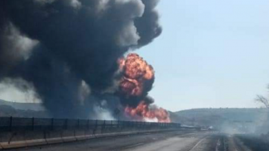 Photo of Explota pipa con gas en la autopista Tepic-Guadalajara