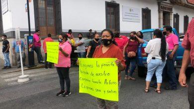 Photo of Integrantes de Antorcha Campesin en Córdoba exigen la aparición de compañero taxista
