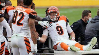Photo of Tremenda lesión de Joe Burrow, el novato #1 de la NFL #Video