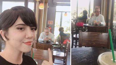 Photo of Padre acompaña a su hija a cita de Tinder y se hace viral