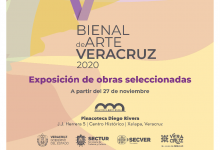 Photo of Inaugura IVEC la V Bienal de Arte Veracruz 2020
