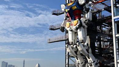 Photo of Video: Japón presenta robot Gundam de 18 metros de altura
