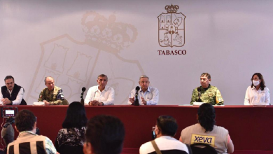 "Photo of ""La vamos a librar"" indica López Obrador a sus paisanos que sufren de inundación en Tabasco"