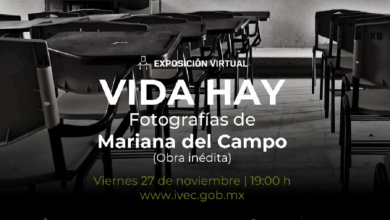 Photo of IVEC invita a la exposición virtual Vida hay, fotografías de Mariana del Campo