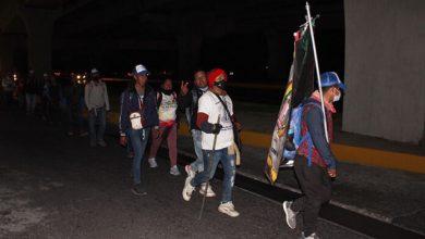 Photo of Fieles desafían al Covid-19; peregrinan a la Basílica de la Guadalupe