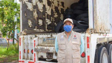 Photo of 150 toneladas de neumáticos recaudados a 3 meses del Llantatón 2020