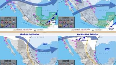 """Photo of Lluvias intensas y evento de """"Norte"""" con rachas de hasta  120 km/h en Veracruz"""
