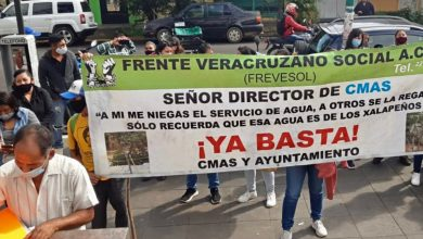 Photo of ¡Llevan más de cuatro años sin agua potable!