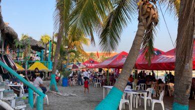 Photo of Abarrotan playas de Veracruz para recibir el 2021
