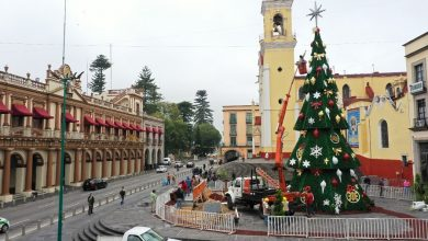 Photo of Instalan árbol navideño en Plaza Lerdo