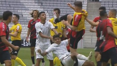 Photo of Final Sub-17 de futbol termina con pelea campal en Brasil