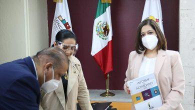 Photo of IVAI entrega Informe de Actividades a poder   Ejecutivo y Legislativo