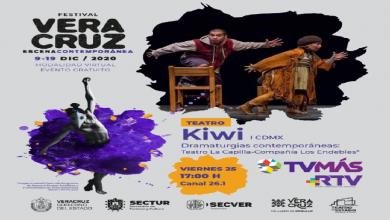 Photo of IVEC y RTV transmitirán presentaciones del Festival Veracruz Escena Contemporánea