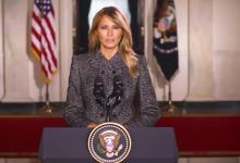 Photo of Melania Trump envía mensaje de despedida