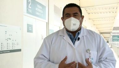 Photo of Supera IMSS los 5 mil 400 pacientes COVID atendidos en Hospital de expansión del AHR