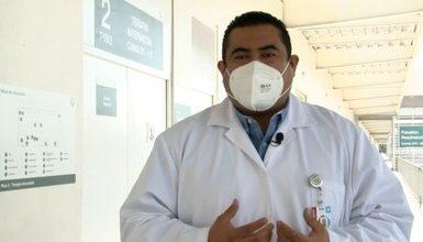 Photo of Supera IMSS los 5 mil 400 pacientes COVID atendidos en Hospital de expansión del AHR