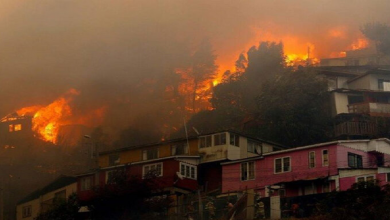 Photo of Incendio forestal en Chile obliga a evacuar a 25 mil personas