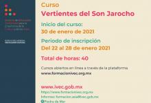 """Photo of Invita IVEC a inscribirse al curso en línea """"Vertientes del Son Jarocho"""""""