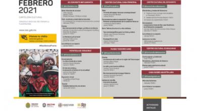 Photo of IVEC presenta cartelera del mes de febrero