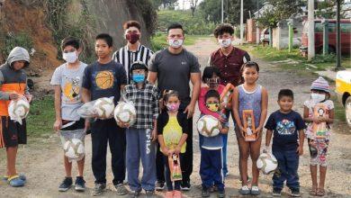 Photo of Integrantes de la Red de Jovenes por Mexico entregaron juguetes en zonas vulnerables