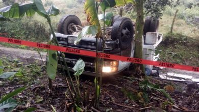 Photo of Volcadura de camioneta deja como saldo un muerto