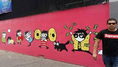 Photo of Grafiti, práctica socialmente aceptada en Xalapa: Miguel Ramón Nogueda