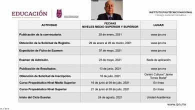 Photo of Pública IPN su convocatoria para nuevo ingreso
