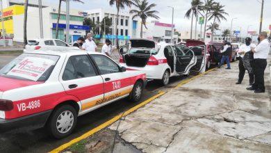 Photo of Sanitizan 200 taxis diario en zona conurbada Veracruz-Boca Del Río