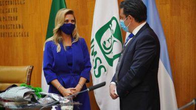Photo of Primera dama de Argentina queda sorprendida con el IMSS